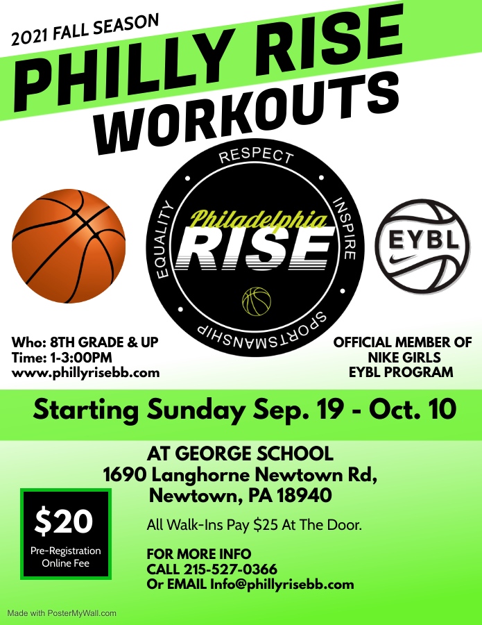 Read more about the article Philly Rise Workouts